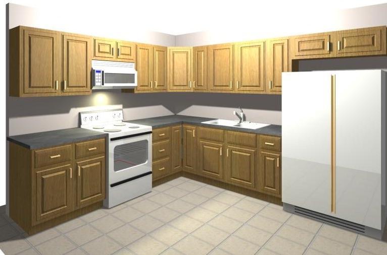 10x10 kitchen designs photos for Kitchen designs trinidad
