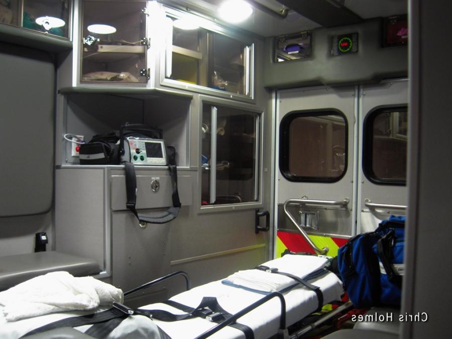 Ambulance Interior Photos