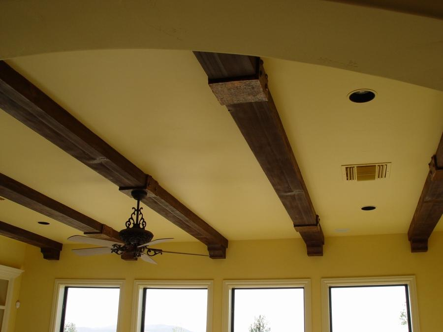 Photos of wood beam ceilings for Fake wood beams for ceiling