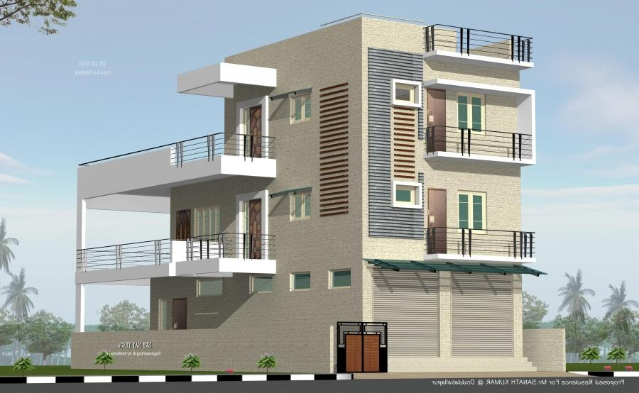 Front Elevation House Hyderabad : House front elevation photos in hyderabad