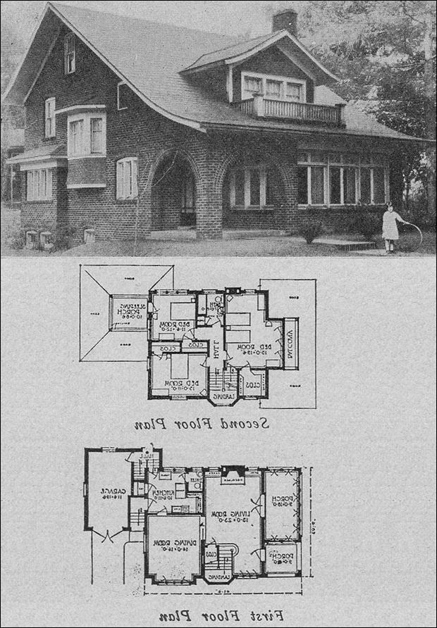 Small brick house plans photos for Face brick home designs