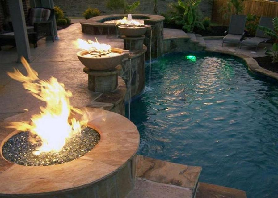 Texas Pool Finders  Outdoors Fire Pits  Stone Work