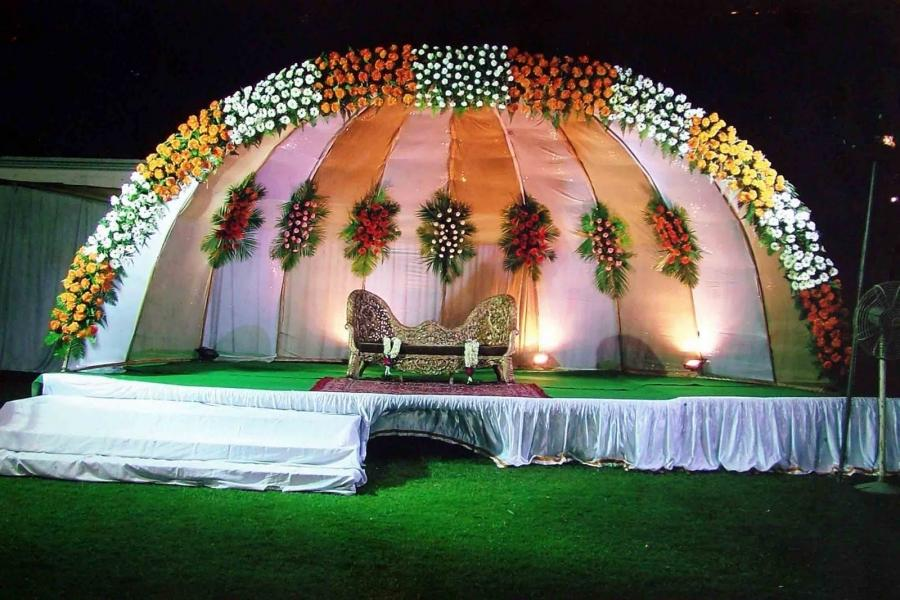 Wedding Stage Decoration Design in Islamabad