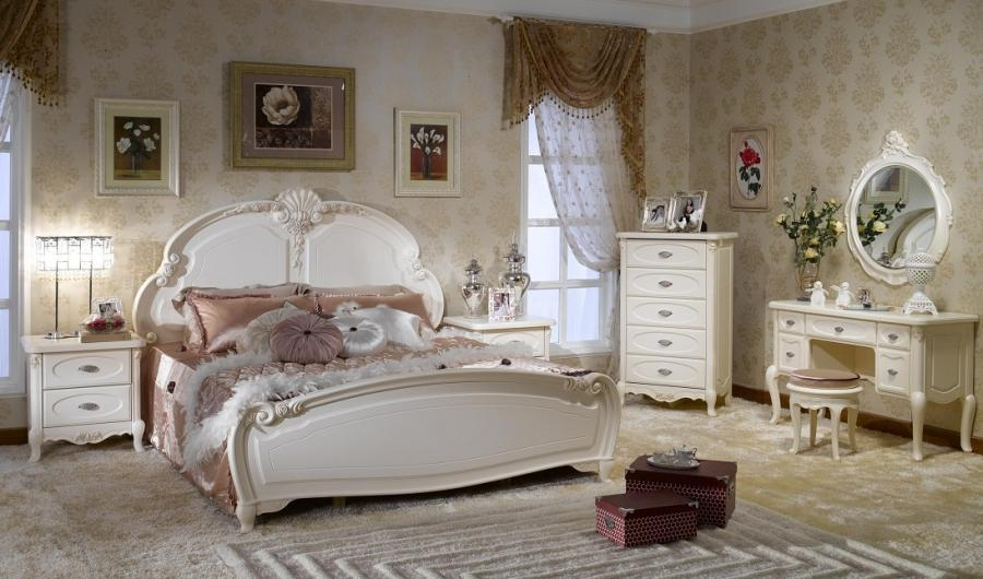 French Style Bedroom Set Furniture BJH 202 Photograph 01