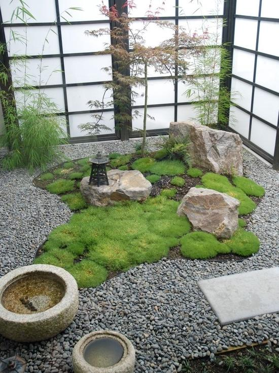Zen garden ideas and photos for Indoor japanese garden