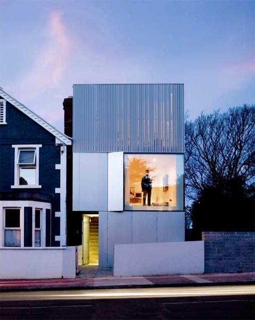 Photos of minimalist houses for Minimalist house gate