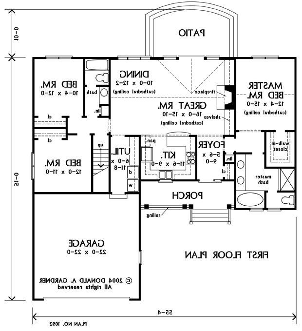 Donald Gardner House Plan Photos