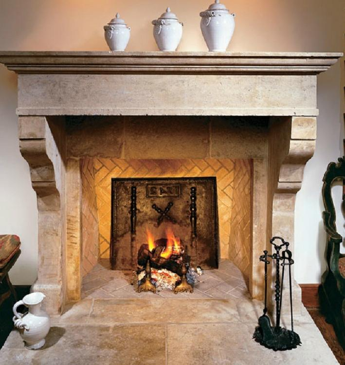 French country fireplace photos for French country stone fireplace