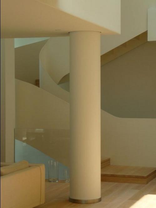 Photos of interior columns and pillars for Interior pillar designs