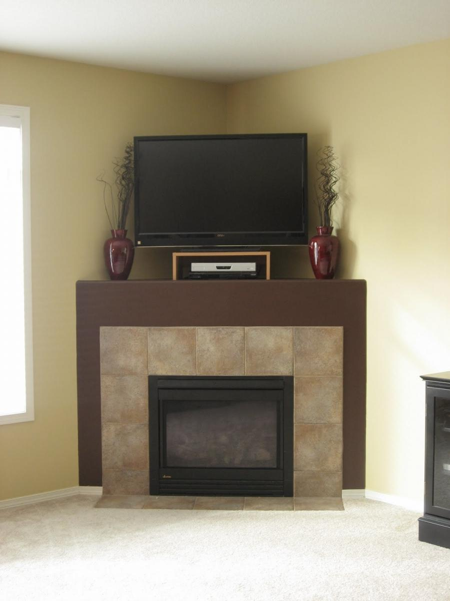 Corner fireplace design ideas photos Corner fireplace makeover ideas