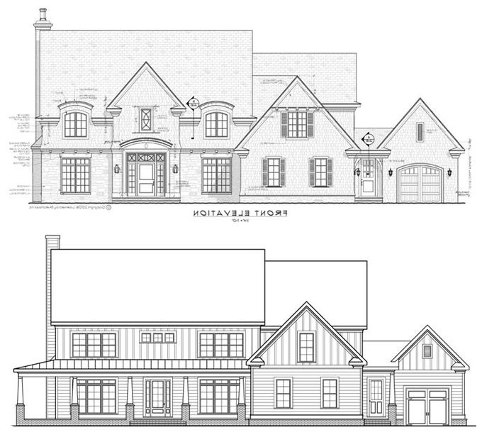 Sample Of Front Elevation : Sample house elevation photos
