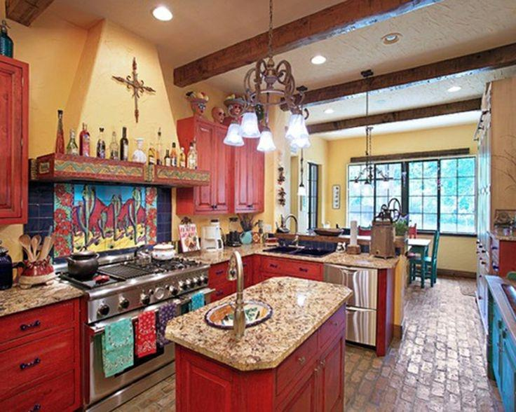 Photos of mexican style kitchens - Mexican home decor ideas ...