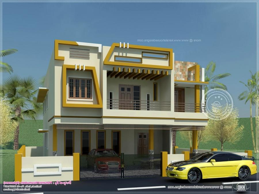 New house photos in tamilnadu for Tamilnadu style home design