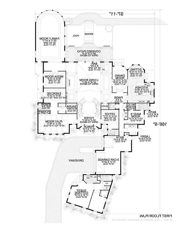 Spanish style house plans photos for Spanish mission house plans