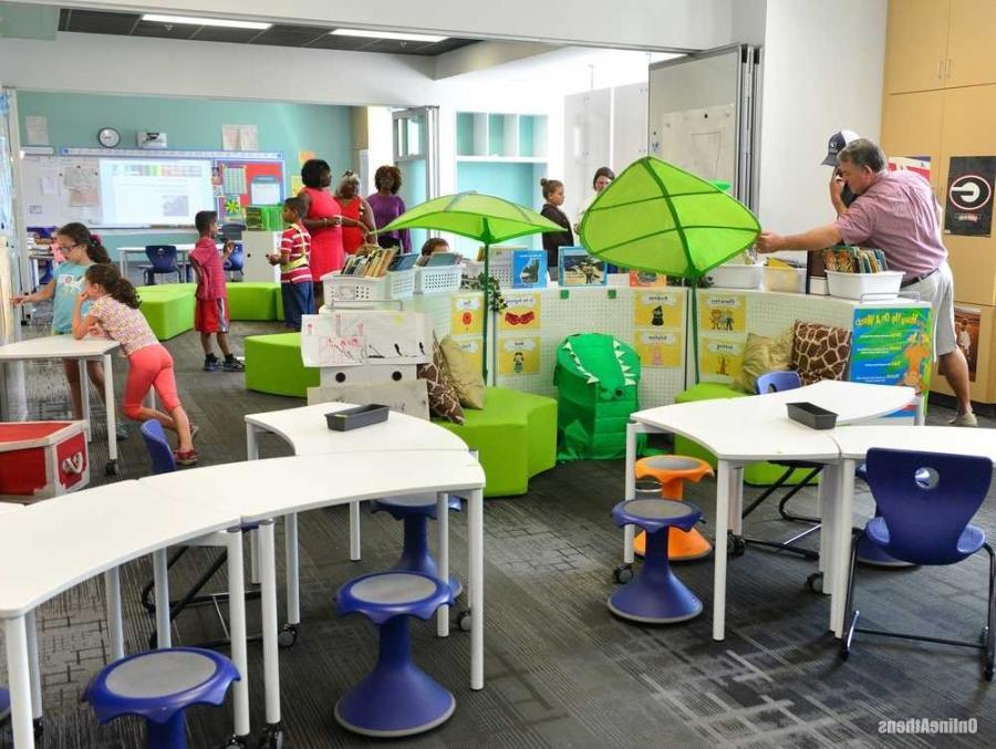 Elementary Classroom Setup : Elementary classroom setting photos
