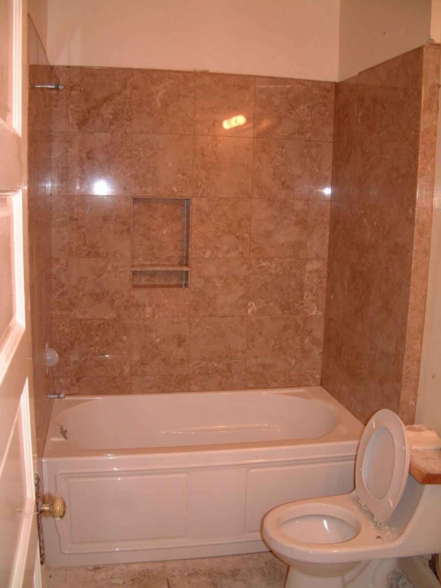 ... Bathroom Remodeling A Small Bathroom Eas With White Small...