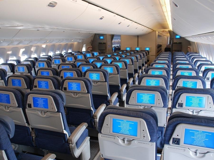 777 Interior Photos