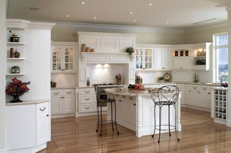 scenic french country kitchen style: french kitchen ideas