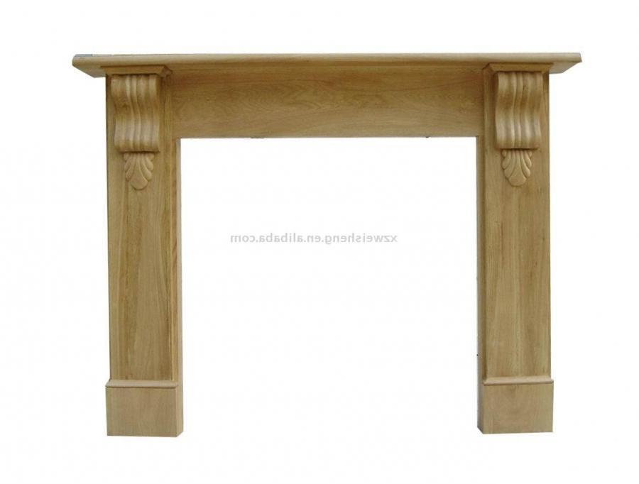 Wood Fireplace Mantel Photos