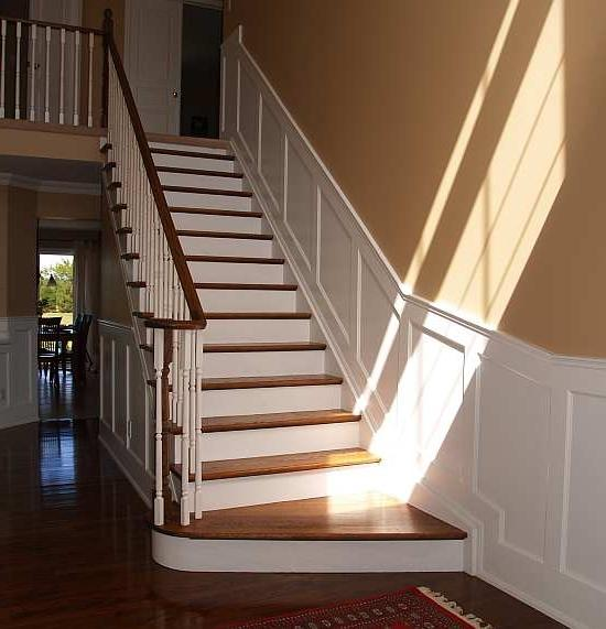 Wainscoting Stairs Photos