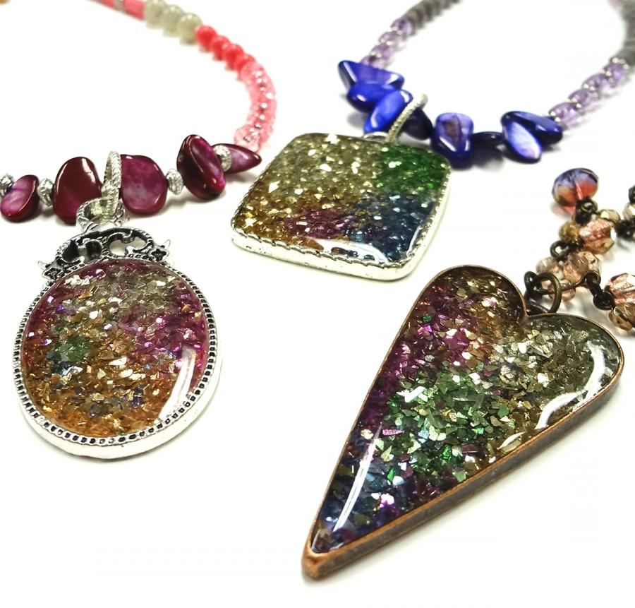 how to make resin jewelry with pictures