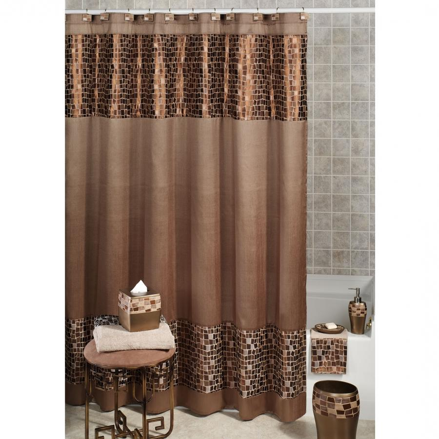 Bathroom with shower curtain photos Bathroom decor ideas with shower curtain