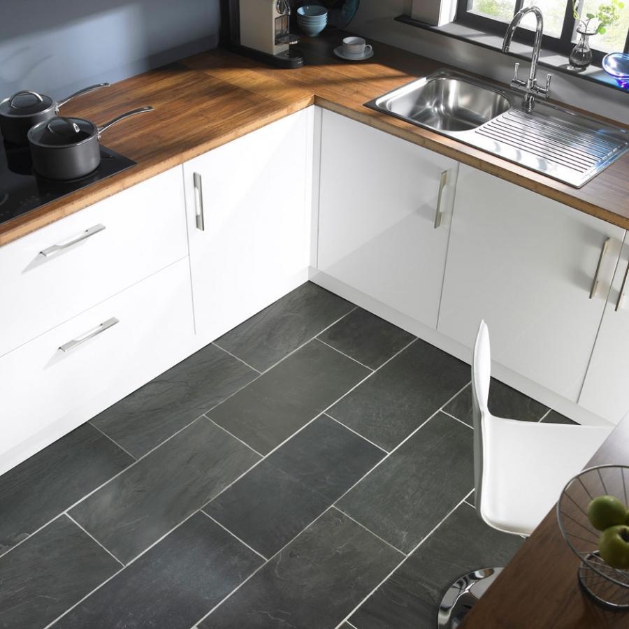 Slate Grey Kitchen: Slate Floor Kitchen Photos