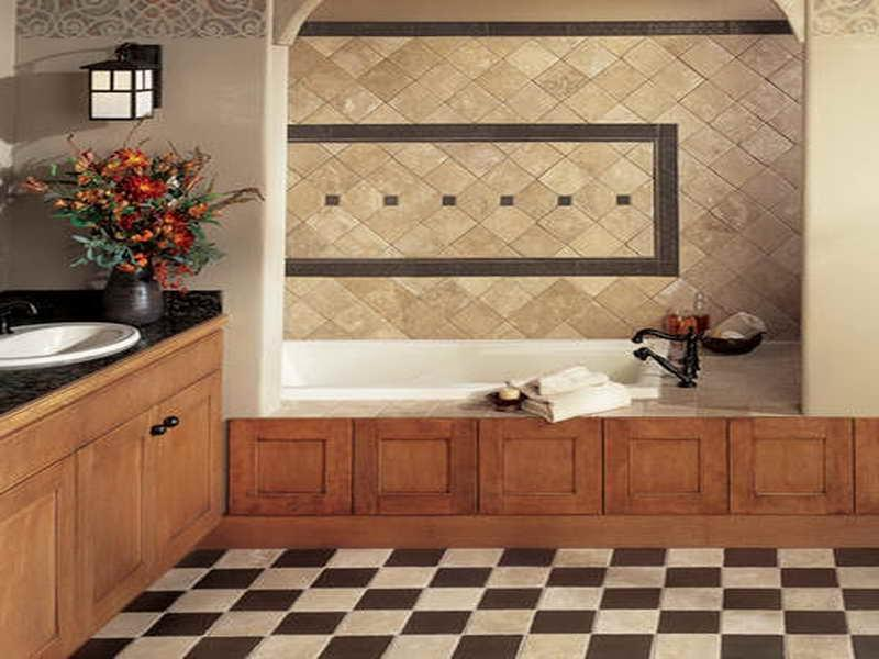 Stunning Tile Designs with Modern Bathroom Design Classic Tile...
