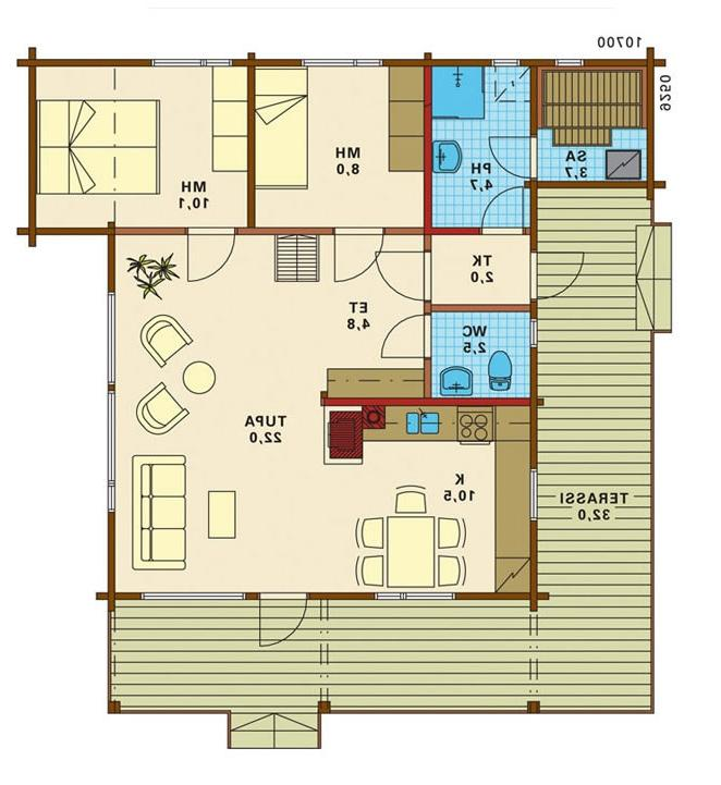 House plans with real photos for Real log homes floor plans