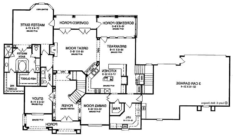 Big house plans photos for Big mountain lodge house plan