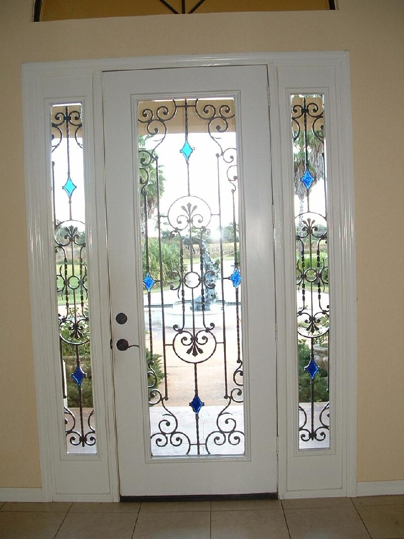 Front Door Grill Designs Photos