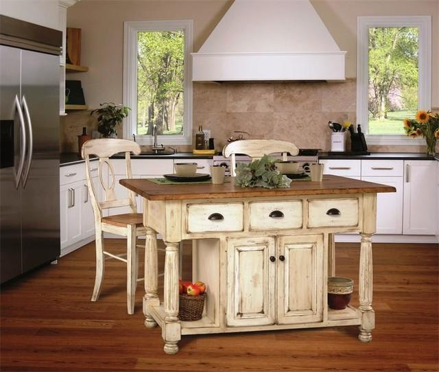 Kitchen Islands Farmhouse Photos