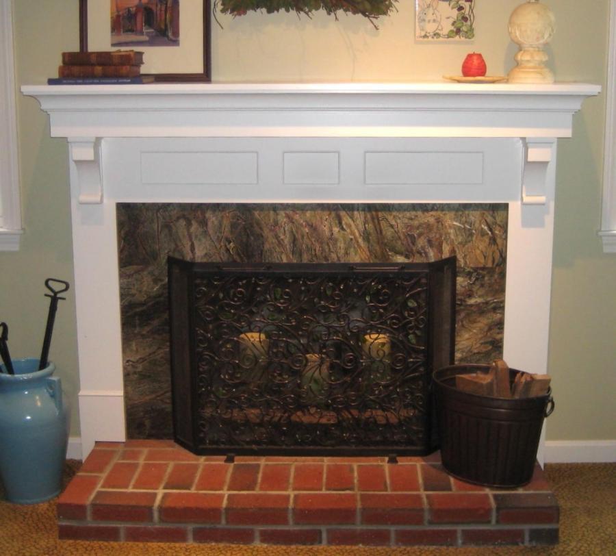 Brick Fireplace Decorating Ideas Photos