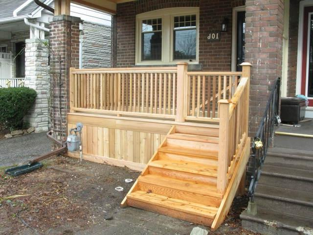 ... photo of Front Porch Rebuild from a Just Deck It review