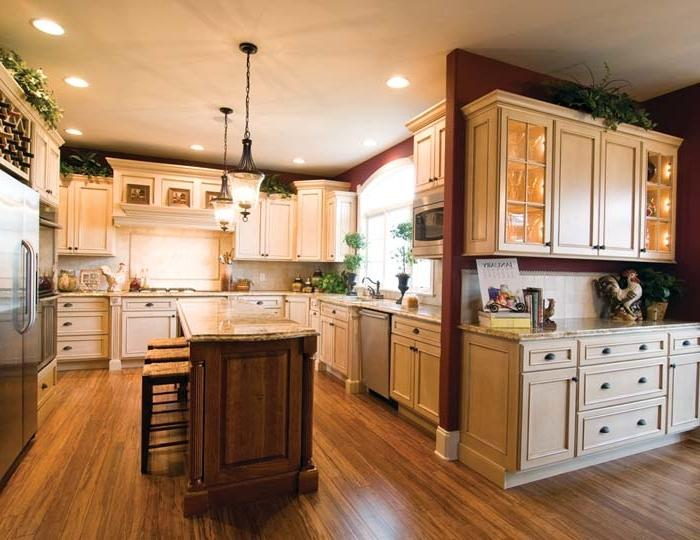 Photo of custom kitchen cabinet for Lowes semi custom bathroom cabinets