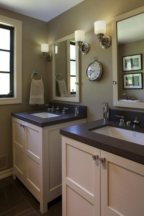 Artistic Designs For Living Bathrooms Taupe Bathroom Taupe
