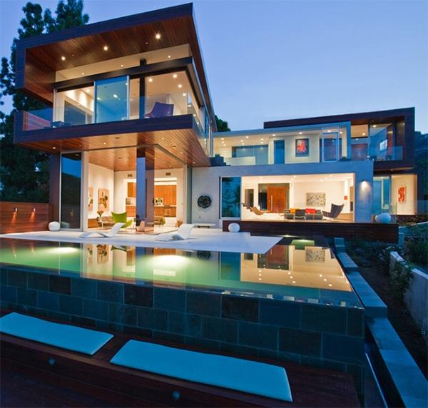 Hollywood Hills Contemporary Home u2013 Sunset Plaza Villa