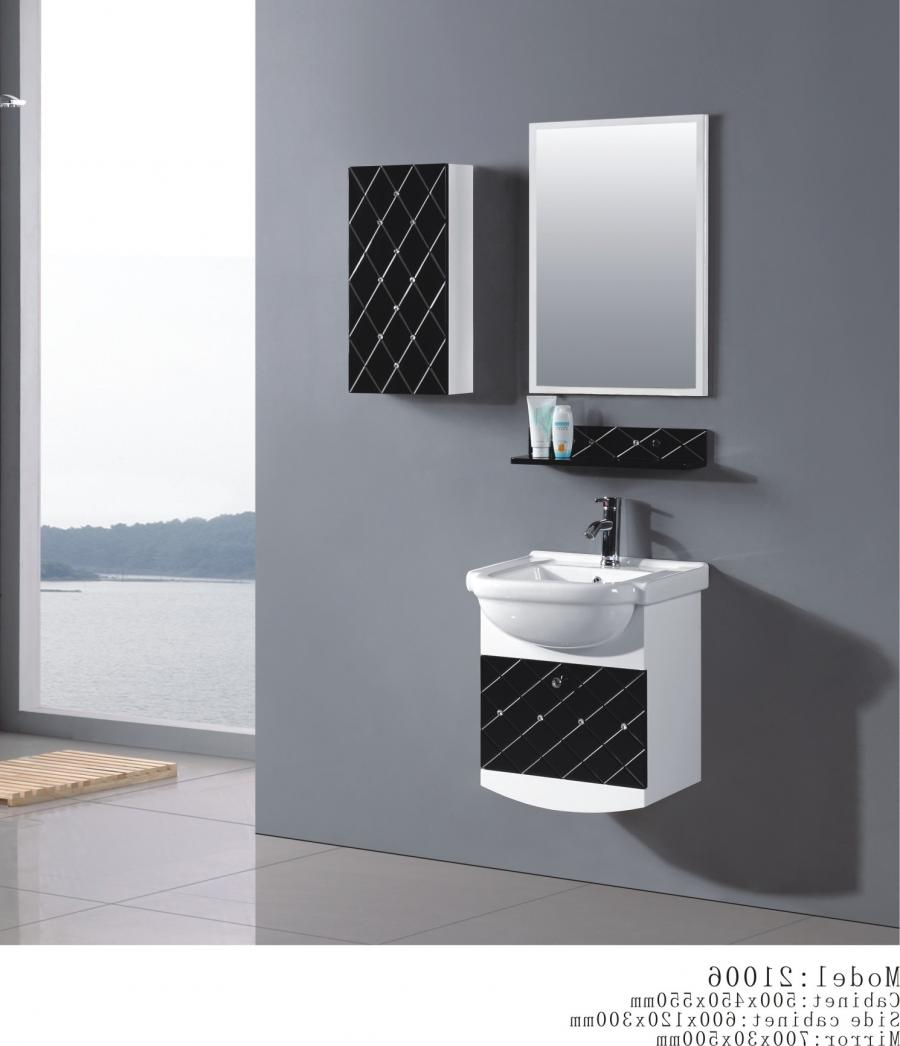 Bathroom Cabinet Organization Design Ideas With Black White