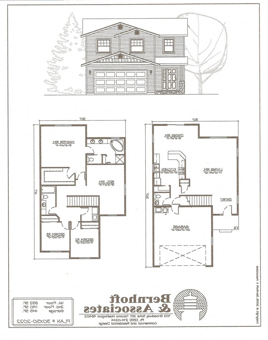 Single family house plans photos for Single family floor plans