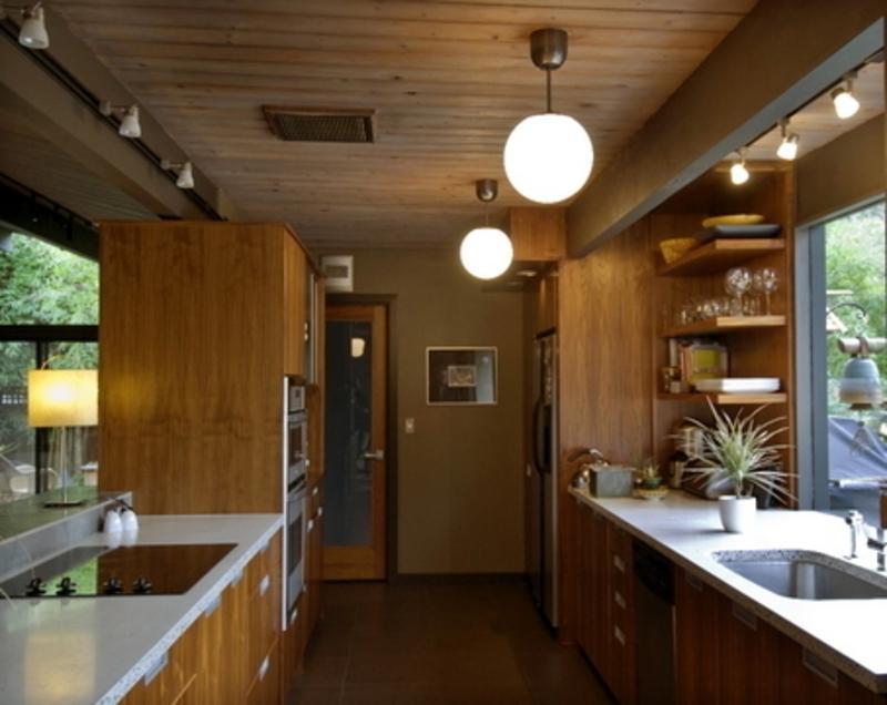 Corridor kitchen photos