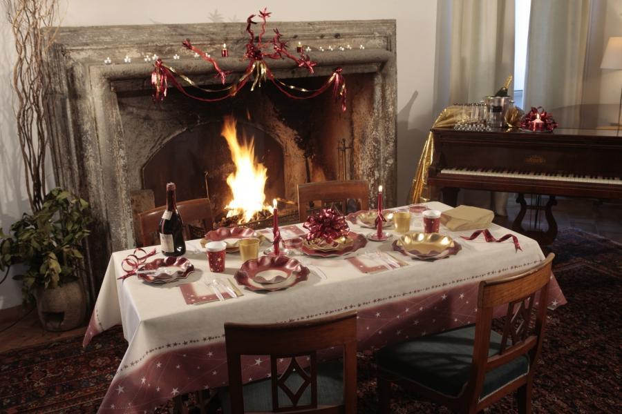 photo de decoration de table de noel. Black Bedroom Furniture Sets. Home Design Ideas