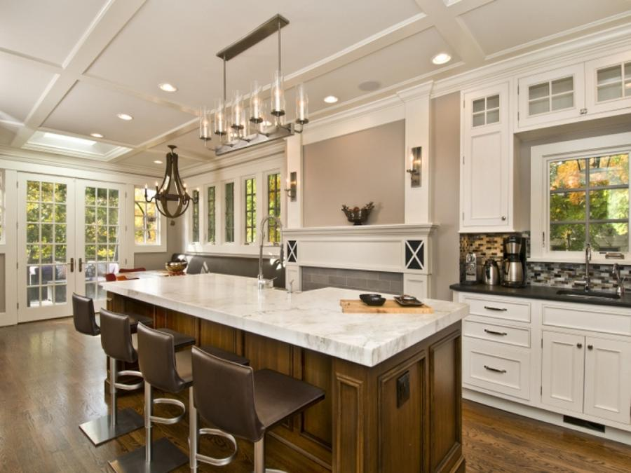 Home Design and Interior Design Gallery of Large Kitchen Island...
