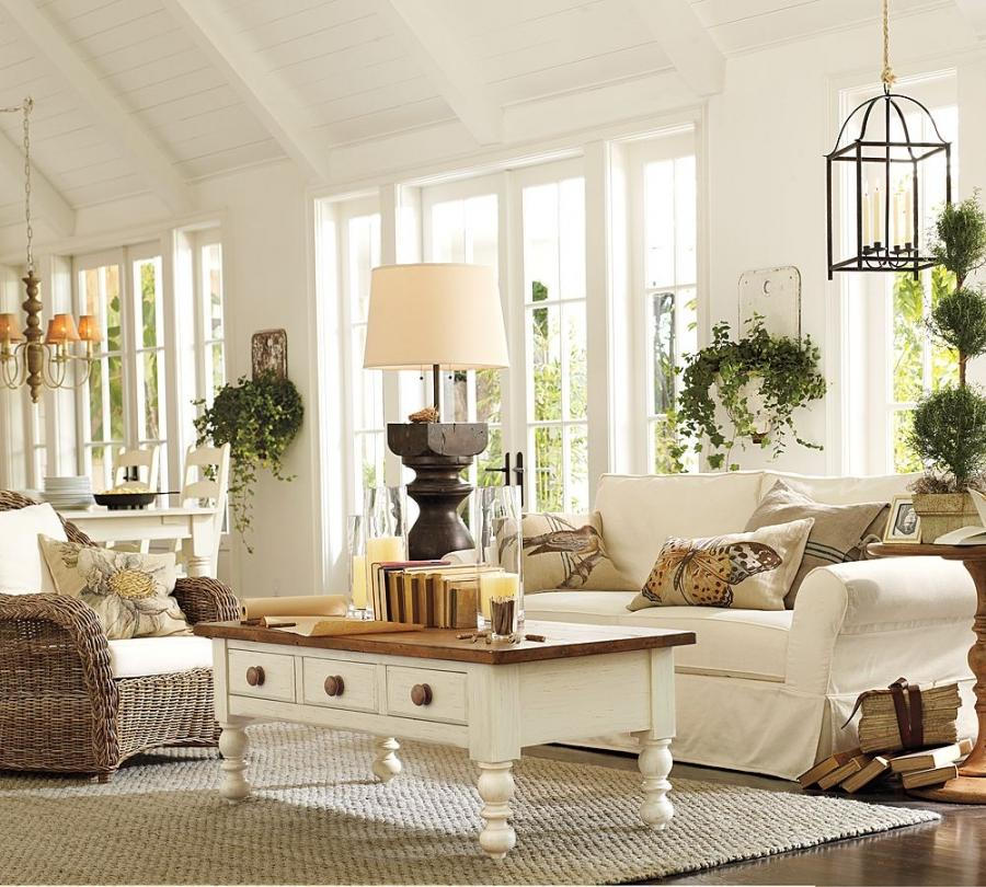Pottery Barn Living Room Sets Modern House