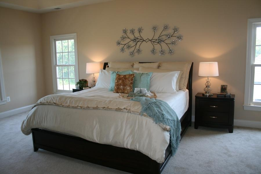 Bedroom Staging Photos