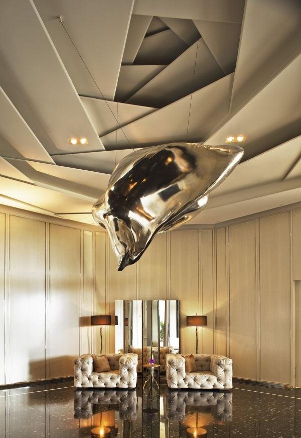 Дизайн потолков фото 2015 современные идеи из гипсокартона