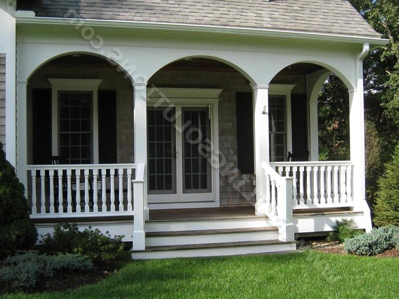 Front Porch Railing by Railing Solutions