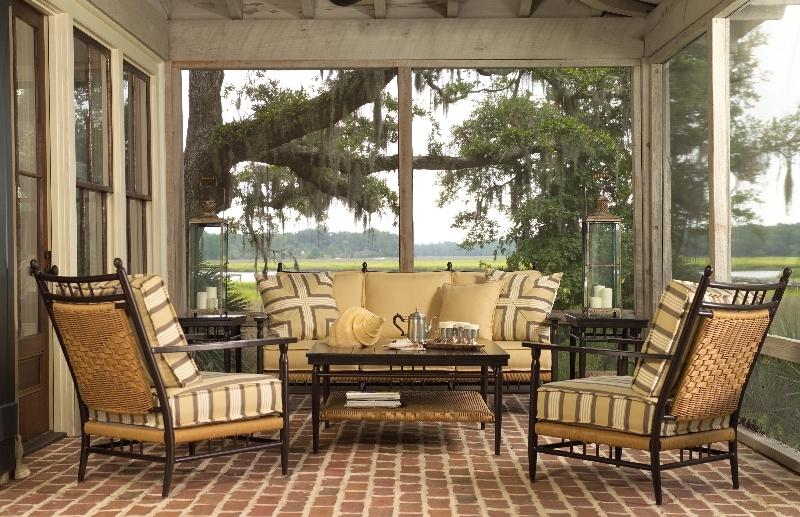 Southern living sunroom photo Outdoor furniture okc
