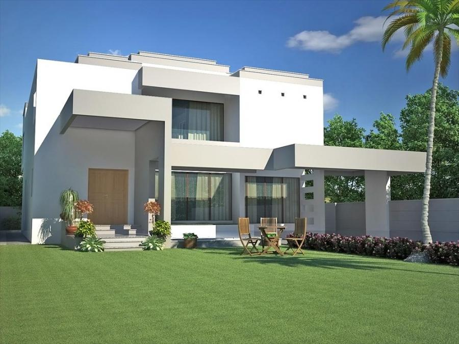 Pakistani house plans with photos for Pakistani home designs pictures