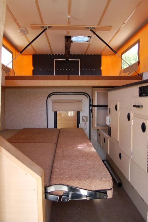 Mercedes Benz Rv >> Truck camper interior photos