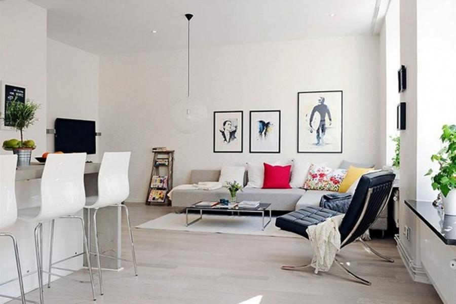 Interior design photos for small flats in mumbai for Interior design ideas living room mumbai
